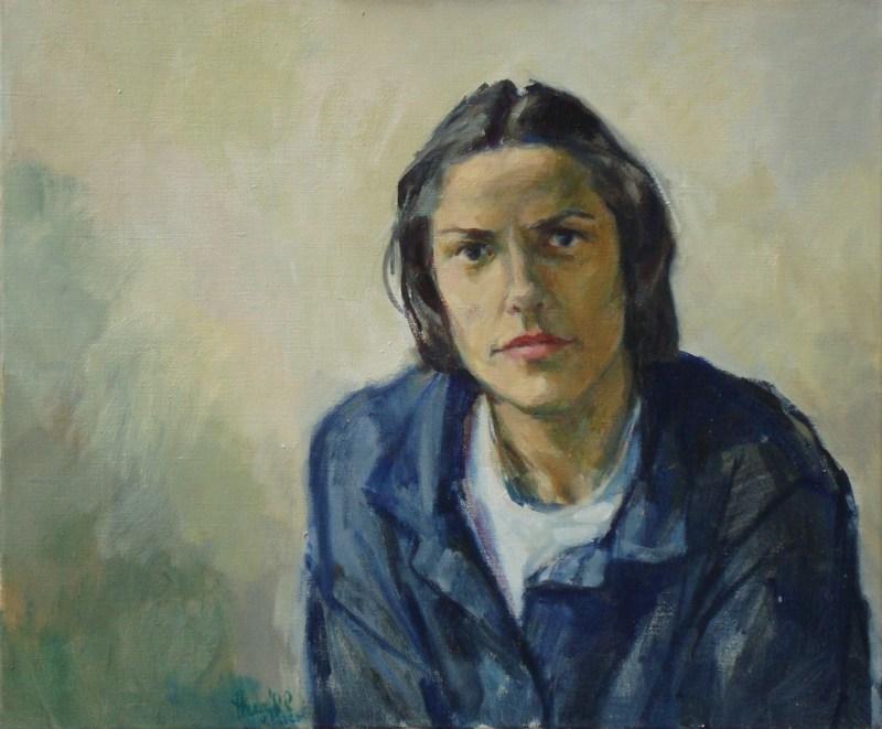 jonge vrouw