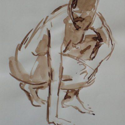 tekening naakt