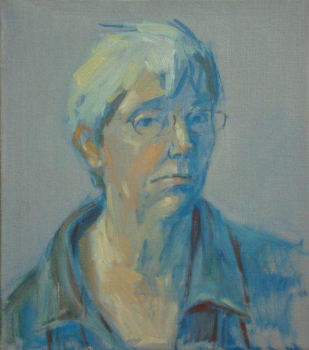 zelfportret Thea van Lier