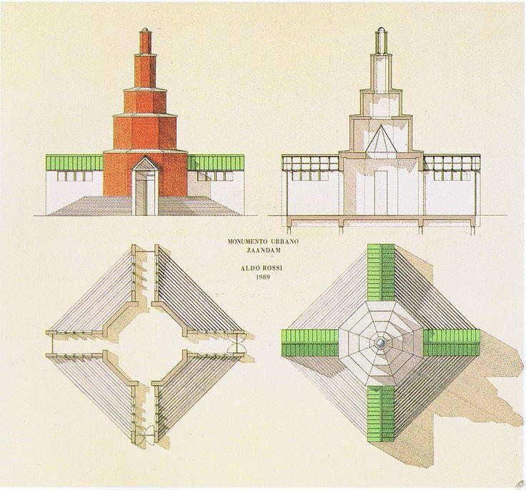 Monumento Urbano - Aldo Rossi